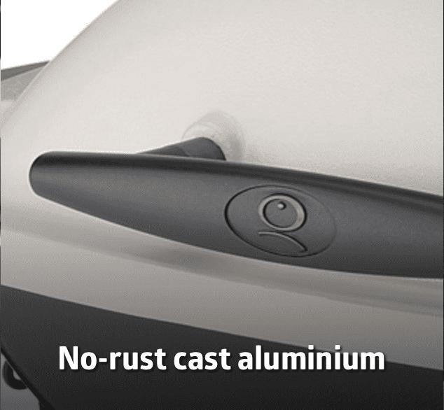 cast aluminium weber q bbq