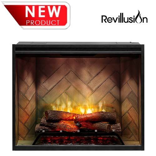 Sensational Dimplex 36 Built In Revillusion Electric Firebox Home Interior And Landscaping Ologienasavecom