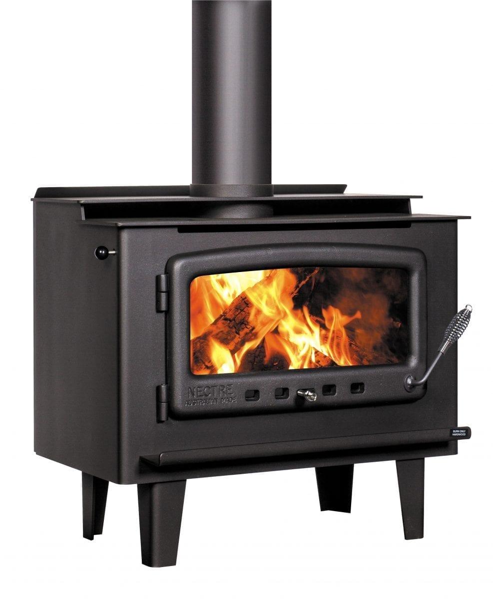 Nectre Mk2 Legs Wood Heater Glendale Warehouse